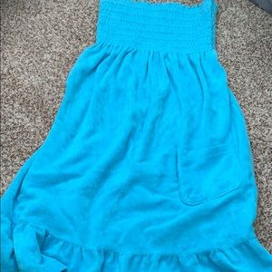 Teal blue Juicy Couture Bathing Suit Cover